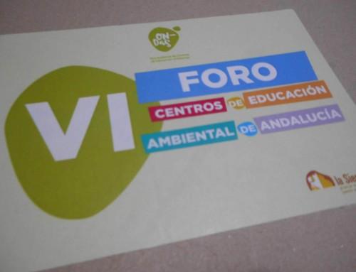 VI Foro de la Red de Centros de Educación Ambiental de Andalucía